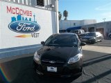 2013 Tuxedo Black Ford Focus S Sedan #74433770