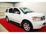 2012 Blizzard White Nissan Armada SL #74433870