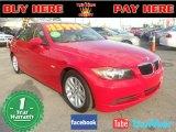 2006 Electric Red BMW 3 Series 325i Sedan #74434363