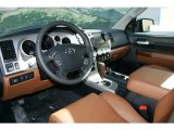 2013 Toyota Tundra Limited Double Cab 4x4 Red Rock Interior