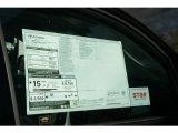 2013 Toyota Tundra Limited Double Cab 4x4 Window Sticker