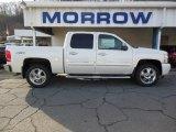 2013 White Diamond Tricoat Chevrolet Silverado 1500 LTZ Crew Cab 4x4 #74433855