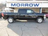 2013 Black Chevrolet Silverado 1500 LT Crew Cab 4x4 #74433854