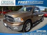 2011 Saddle Brown Pearl Dodge Ram 1500 Big Horn Quad Cab #74434349