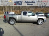 2013 Graystone Metallic Chevrolet Silverado 1500 LT Extended Cab 4x4 #74433978