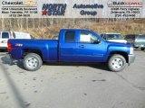 2013 Blue Topaz Metallic Chevrolet Silverado 1500 LT Extended Cab 4x4 #74433977