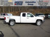 2013 Summit White Chevrolet Silverado 1500 LT Extended Cab 4x4 #74433973