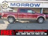 2013 Ruby Red Metallic Ford F150 XLT SuperCrew 4x4 #74433841