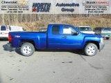 2013 Blue Topaz Metallic Chevrolet Silverado 1500 LT Extended Cab 4x4 #74433970
