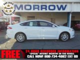 2013 White Platinum Metallic Tri-coat Ford Fusion SE 1.6 EcoBoost #74433839