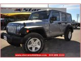 2013 Billet Silver Metallic Jeep Wrangler Unlimited Sport S 4x4 #74434200
