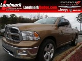 2011 Saddle Brown Pearl Dodge Ram 1500 Big Horn Quad Cab #74433940