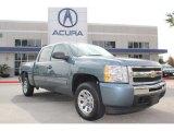 2011 Blue Granite Metallic Chevrolet Silverado 1500 LS Crew Cab #74433686