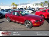 2005 Redfire Metallic Ford Mustang V6 Deluxe Coupe #74434060