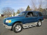2002 Ford Explorer Dark Teal Metallic