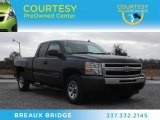 2011 Taupe Gray Metallic Chevrolet Silverado 1500 LS Extended Cab #74434416