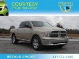 2011 White Gold Dodge Ram 1500 Big Horn Crew Cab #74434410