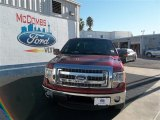 2013 Ruby Red Metallic Ford F150 XLT SuperCrew #74433779