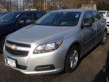 2013 Silver Ice Metallic Chevrolet Malibu LS #74433656