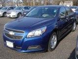 2013 Blue Topaz Metallic Chevrolet Malibu LS #74433654