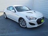 2013 White Satin Pearl Hyundai Genesis Coupe 2.0T #74434039