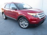 2013 Ruby Red Metallic Ford Explorer XLT #74434033