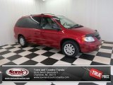 2003 Inferno Red Pearl Chrysler Town & Country LX #74434265