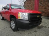 2010 Victory Red Chevrolet Silverado 1500 Regular Cab #74490251