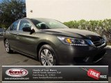 2013 Hematite Metallic Honda Accord LX Sedan #74489446