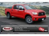 2013 Radiant Red Toyota Tundra TRD Rock Warrior CrewMax 4x4 #74489436