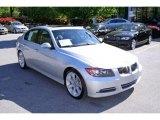 2008 Titanium Silver Metallic BMW 3 Series 335i Sedan #7439250