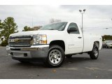 2012 Summit White Chevrolet Silverado 1500 LT Regular Cab 4x4 #74489995