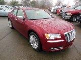 2013 Chrysler 300 Deep Cherry Red Crystal Pearl