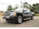 2010 Black Chevrolet Silverado 1500 LS Crew Cab 4x4 #74489988