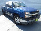 2004 Arrival Blue Metallic Chevrolet Silverado 1500 LS Extended Cab #74489762
