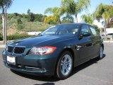 2008 Deep Green Metallic BMW 3 Series 328i Sedan #7432185