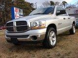 2006 Bright Silver Metallic Dodge Ram 1500 SLT Quad Cab #74490212