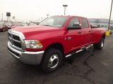 2012 Flame Red Dodge Ram 3500 HD ST Crew Cab 4x4 Dually #74489848