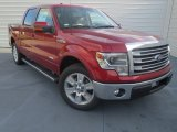 2013 Ruby Red Metallic Ford F150 Lariat SuperCrew #74489757