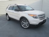 2013 White Platinum Tri-Coat Ford Explorer XLT #74489753