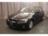 2009 Jet Black BMW 3 Series 328xi Sedan #7430603
