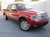 2013 Ruby Red Metallic Ford F150 Platinum SuperCrew #74489751