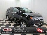 2011 Crystal Black Pearl Acura MDX  #74489976