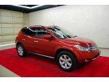 2006 Sunset Red Pearl Metallic Nissan Murano SL #7435144