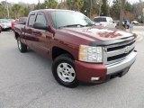 2008 Deep Ruby Metallic Chevrolet Silverado 1500 LT Extended Cab #74489823