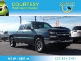 2006 Blue Granite Metallic Chevrolet Silverado 1500 Work Truck Extended Cab 4x4 #74490177