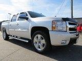 2011 White Diamond Tricoat Chevrolet Silverado 1500 LT Crew Cab #74489813