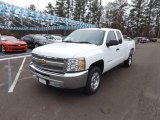 2013 Summit White Chevrolet Silverado 1500 LT Extended Cab #74490048