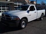 2010 Stone White Dodge Ram 1500 ST Regular Cab 4x4 #74489804