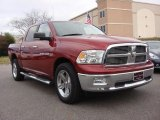 2011 Deep Cherry Red Crystal Pearl Dodge Ram 1500 Big Horn Crew Cab 4x4 #74489466